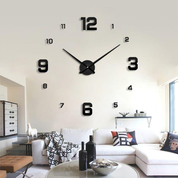 שעוני קיר שעונים מחוג ציורים להדבקה מעוצבים לבית לחדר ילדים משרד לקניה Life-Design   לייף-דיזיין