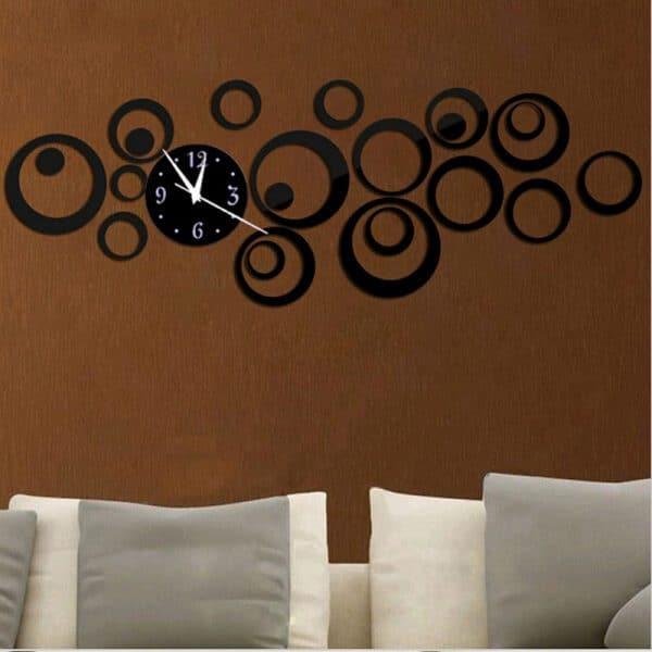 שעוני קיר שעונים מחוג ציורים להדבקה מעוצבים לבית לחדר ילדים משרד לרכישה בזול Life-Design | לייף-דיזיין