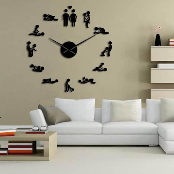 שעוני קיר שעונים מחוג ציורים להדבקה מעוצבים לבית לחדר ילדים משרד לקניה Life-Design | לייף-דיזיין