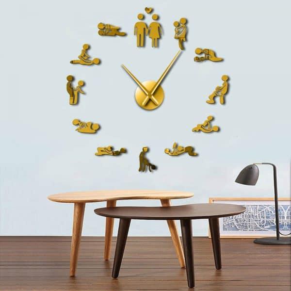 שעוני קיר שעונים מחוג ציורים להדבקה מעוצבים לבית לחדר ילדים משרד Life-Design | לייף-דיזיין להזמנה אונליין