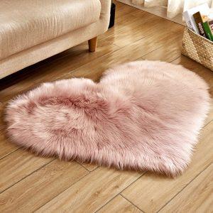 שטיח רך נעים שאגי שערות בסגנון רטרו מעוצב לבית לסלון חדר ילדים שינה Life-Design | לייף-דיזיין