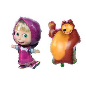 בלונים של מאשה והדוב