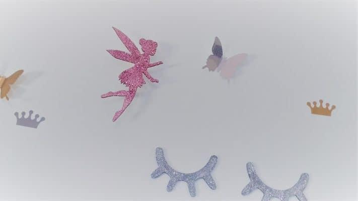 מתלים לחדרי ילדים - פרפרים מדבקות קיר - רוית מרציאנו