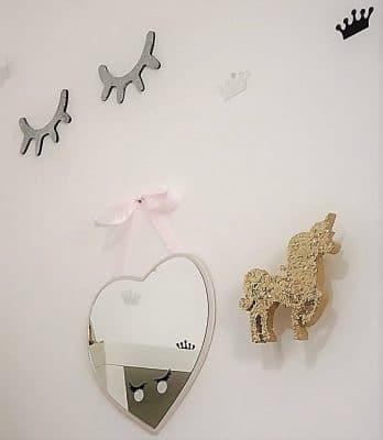 חד קרן מתלה מעוצב לחדרי ילדים רוית מרציאנו