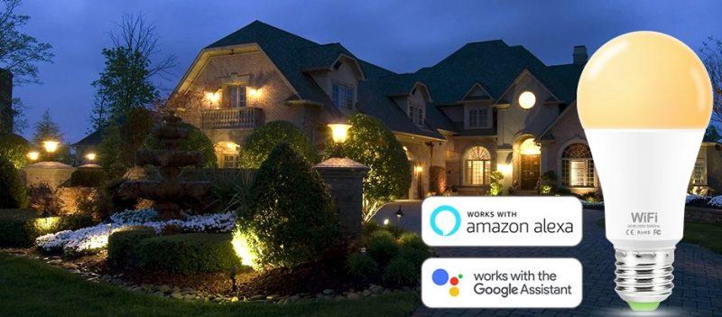 תאורת לד צבעונית WIFI חכמה אלקסה אלחוטית לקניה בזול לייף דיזיין