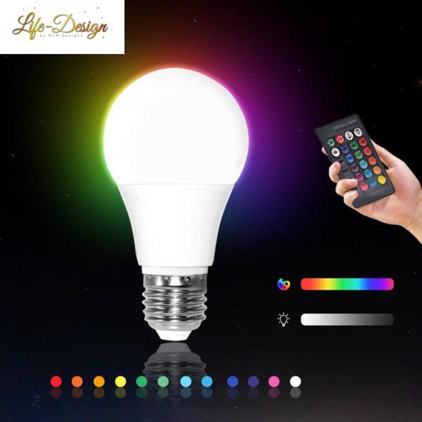 תאורת לד צבעונית אקו שלט אור לבן קר חם ווייפיי לייף דיזיין לרכישה במבצע